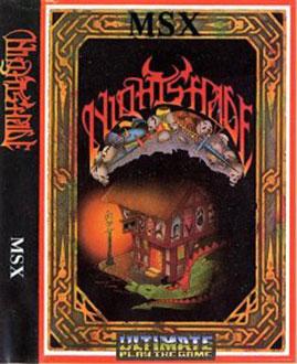 Juego online NightShade (MSX)