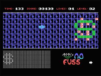 Pantallazo del juego online No Fuss (MSX)