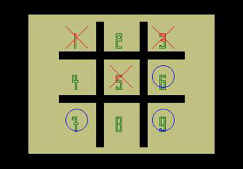 Juego online Noughts and Crosses (MSX)