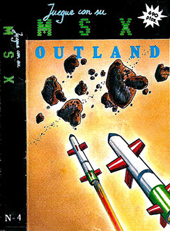 Juego online Outland (MSX)