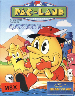 Juego online Pac-Land (MSX)