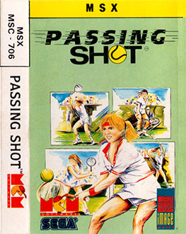 Juego online Passing Shot (MSX)