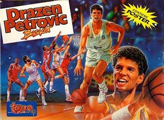 Juego online Drazen Petrovic Basket (MSX)