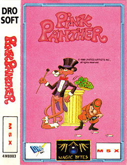 Juego online Pink Panther (MSX)