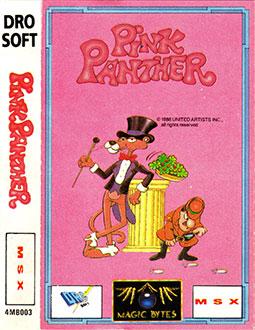 Carátula del juego Pink Panther (MSX)