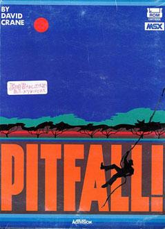 Portada de la descarga de Pitfall