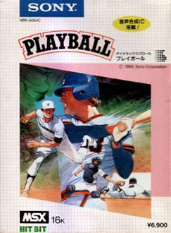 Juego online Playball (MSX)