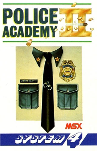 Juego online Police Academy 2 (MSX)