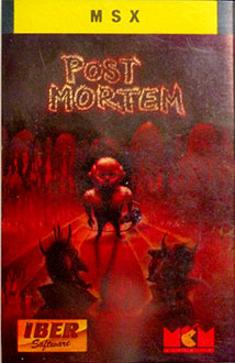Portada de la descarga de Post Mortem