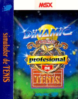 Carátula del juego Simulador Profesional de Tenis (MSX)