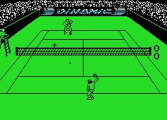 Pantallazo del juego online Simulador Profesional de Tenis (MSX)