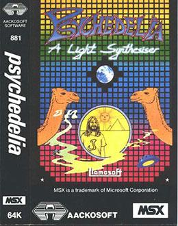 Juego online Psychedelia (MSX)