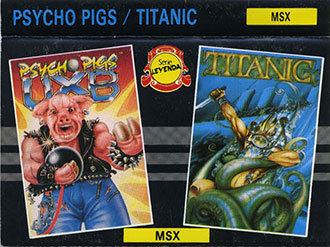 Juego online Psycho Pig UXB (MSX)