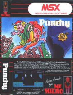 Juego online Punchy (MSX)