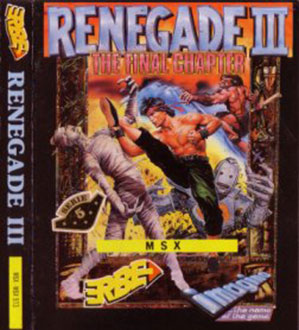 Juego online Renegade III (MSX)