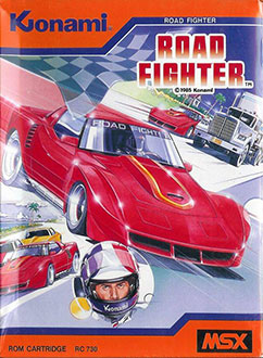 Juego online Road Fighter (MSX)