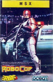 Juego online Robocop (MSX)