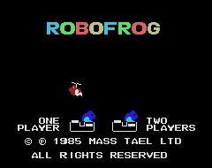 Juego online Robofrog (MSX)