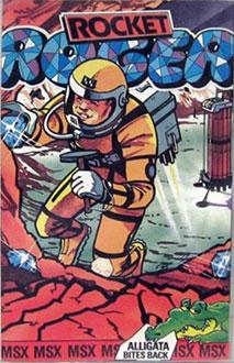 Juego online Rocket Roger (MSX)