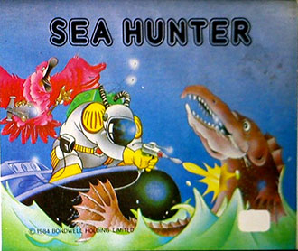 Juego online Sea Hunter (MSX)