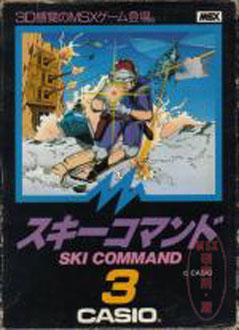 Juego online Ski Command (MSX)