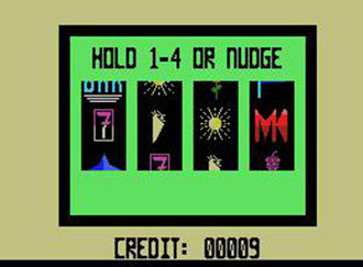 Juego online Slot Machine (MSX)