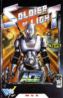 Juego online Soldier of Light (MSX)