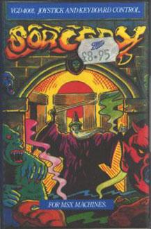 Juego online Sorcery (MSX)
