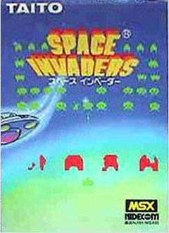 Juego online Space Invaders (MSX)