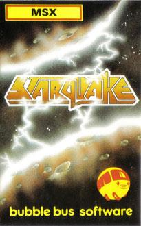 Portada de la descarga de Starquake