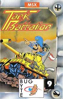 Juego online Tank Battalion (MSX)