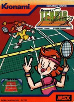 Juego online Tennis (MSX)