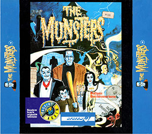 Juego online The Munsters (MSX)