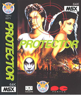 Juego online The Protector (MSX)