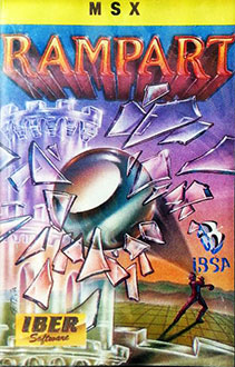 Juego online The Rampart (MSX)