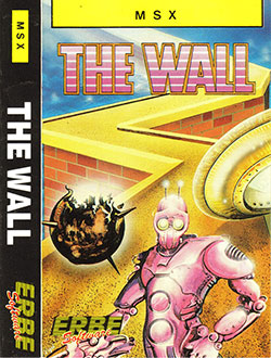 Juego online The Wall (MSX)
