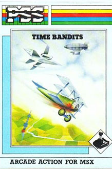 Juego online Time Bandits (MSX)