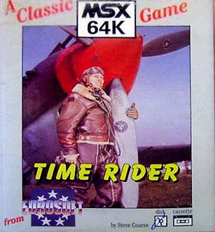 Carátula del juego Time Rider (MSX)