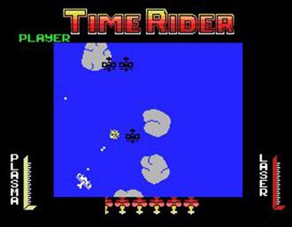 Pantallazo del juego online Time Rider (MSX)