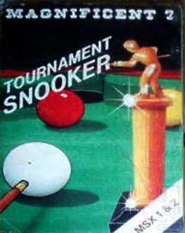 Juego online Tournament Snooker (MSX)