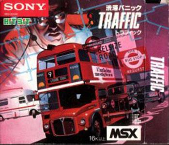 Carátula del juego Traffic (MSX)