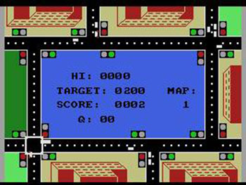 Pantallazo del juego online Traffic (MSX)
