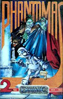 Juego online Phantomas 2 (Vampire) (MSX)