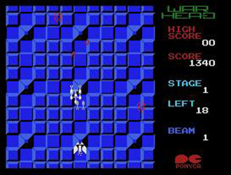 Juego online Warhead (MSX)