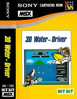 Juego online 3D Water Driver (MSX)