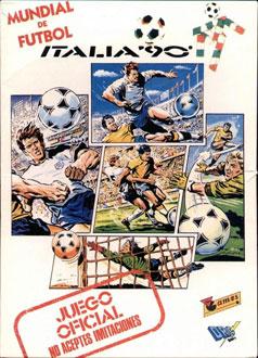 Portada de la descarga de World Cup Italia 90