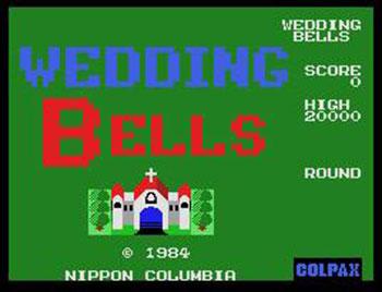 Juego online Wedding Bells (MSX)