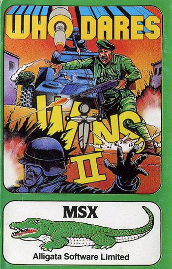 Juego online Who Dares Wins 2 (MSX)
