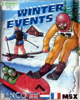 Juego online Winter Events (MSX)