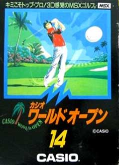 Juego online Casio World Open (MSX)